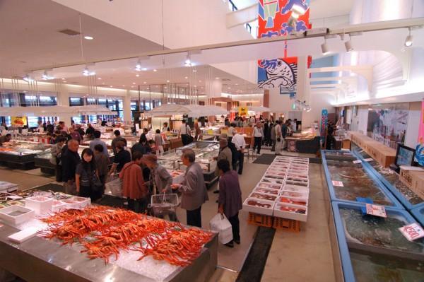 大漁市場なかうら・かにスーププレゼント!