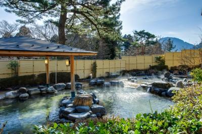 森の湯 露天風呂