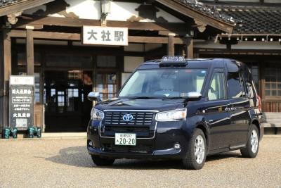 ジャパンタクシー車