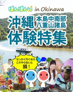 沖縄本島中南部八重山諸島体験特集