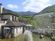 箱根ガラスの森美術館の外観はこんな感じ~♪
